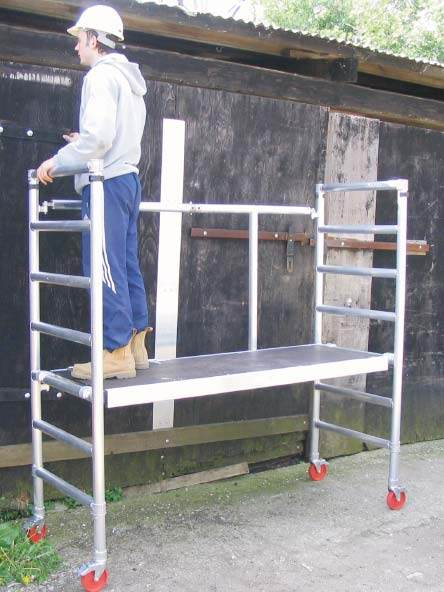 Fold Easy Alloy Scaffold Towers And Aluminium Work Platform