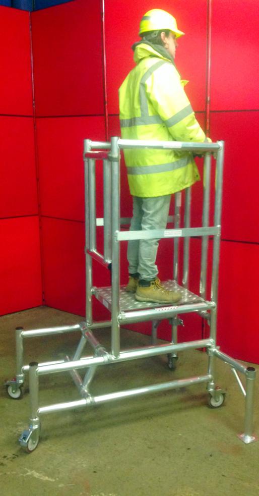Podium Steps Aluminuim Scaffold Towers