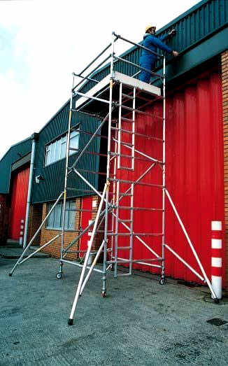 Podium Steps Aluminuim Scaffold Towers