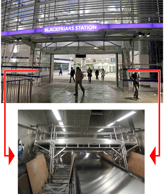 how to build an escalator